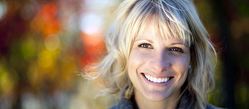 smiley woman